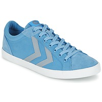 kengät Matalavartiset tennarit Hummel DEUCE COURT SUMMER Blue / Grey