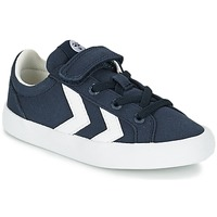 kengät Lapset Matalavartiset tennarit Hummel DEUCE COURT JR Blue