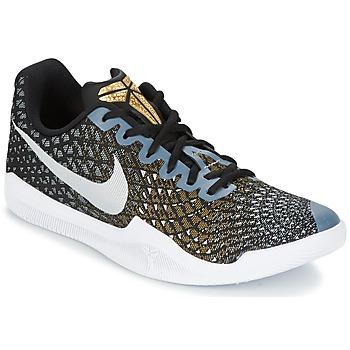 kengät Miehet Koripallokengät Nike MAMBA INSTINCT Black / White