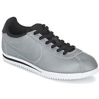 kengät Pojat Matalavartiset tennarit Nike CORTEZ PREMIUM JUNIOR Grey