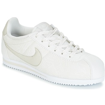 kengät Tytöt Matalavartiset tennarit Nike CORTEZ LEATHER SE JUNIOR BEIGE