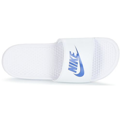 Naisten kengät Nike BENASSI JUST DO IT White / Blue  kengät Rantasandaalit Miehet 2899