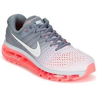 kengät Naiset Juoksukengät / Trail-kengät Nike AIR MAX 2017 Grey / Pink