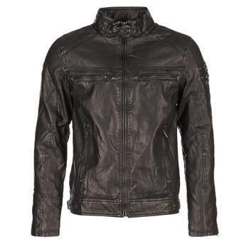 vaatteet Miehet Nahkatakit / Tekonahkatakit Deeluxe SPANGLE Black