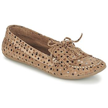 kengät Naiset Mokkasiinit Ippon Vintage MOC POINTS TAUPE