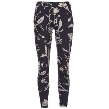 vaatteet Naiset Legginsit Desigual CAMIOLES Black / Grey