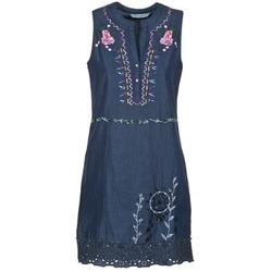 vaatteet Naiset Lyhyt mekko Desigual LIRASE Blue