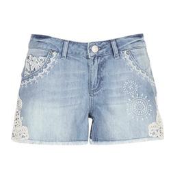 vaatteet Naiset Shortsit / Bermuda-shortsit Desigual MARTES Blue