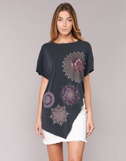 vaatteet Naiset Tunika Desigual GRIZULLO Black