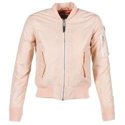vaatteet Naiset Pusakka Schott BOMBER BY SCHOTT Pink