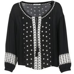 vaatteet Naiset Topit / Puserot See U Soon 7117029 Black