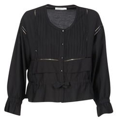 vaatteet Naiset Topit / Puserot See U Soon 7113001 Musta