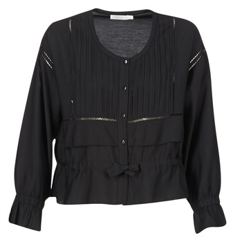 vaatteet Naiset Topit / Puserot See U Soon 7113001 Black
