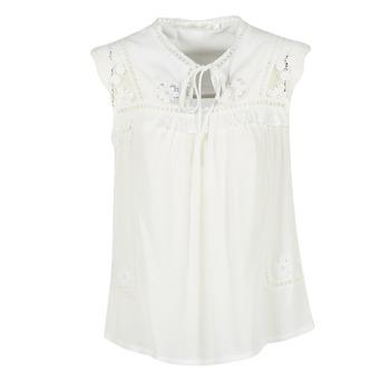 vaatteet Naiset Topit / Puserot See U Soon 7116203 White