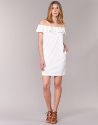 vaatteet Naiset Lyhyt mekko See U Soon 7123017 White