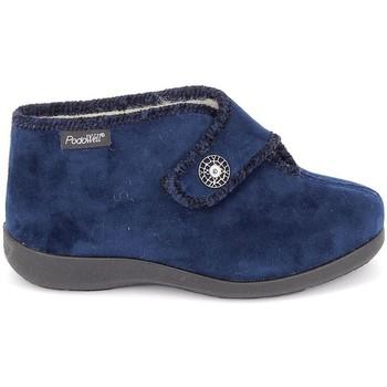 kengät Naiset Tossut Fargeot Caliope marine Sininen