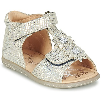 kengät Tytöt Sandaalit ja avokkaat Babybotte TUTU Silver