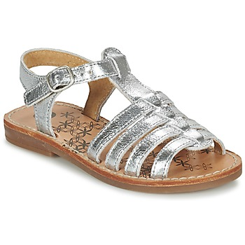 kengät Tytöt Sandaalit ja avokkaat Babybotte YLONA Silver