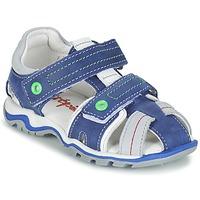 kengät Pojat Sandaalit ja avokkaat Babybotte KARTER Blue / Green / Grey