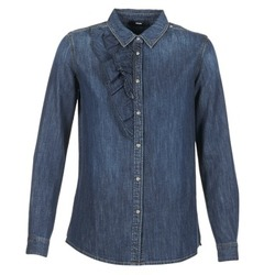 vaatteet Naiset Paitapusero / Kauluspaita Diesel DE KELLY Blue