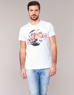 vaatteet Miehet Lyhythihainen t-paita Diesel T DIEGO NC White