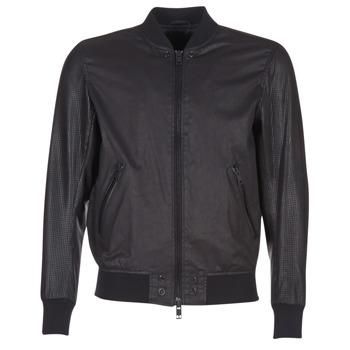 vaatteet Miehet Nahkatakit / Tekonahkatakit Diesel L POWELL Black