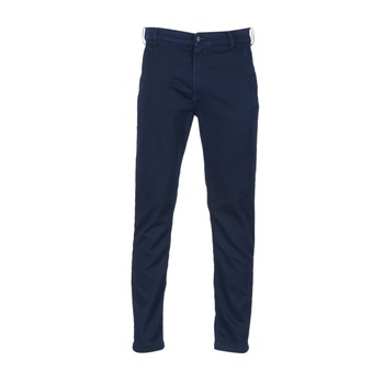 vaatteet Miehet Chino-housut / Porkkanahousut Diesel SLIM CHINO JOGGJEANS Blue