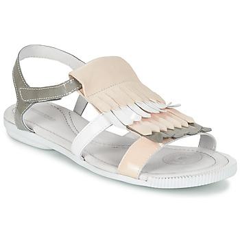 kengät Naiset Sandaalit ja avokkaat Pataugas CANDY/V F2C White / Grey / Pink