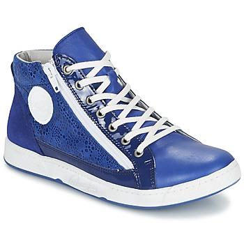 kengät Naiset Korkeavartiset tennarit Pataugas JANE/BB F2C Blue