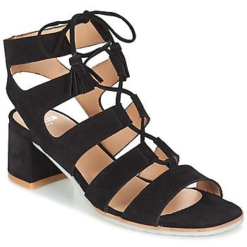 kengät Naiset Sandaalit ja avokkaat Perlato QUEZOKA Black