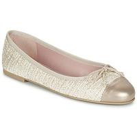 kengät Naiset Balleriinat Pretty Ballerinas AMI Gold / Pink