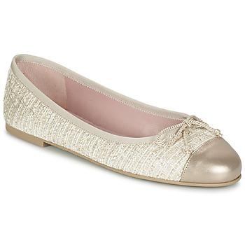 kengät Naiset Balleriinat Pretty Ballerinas AMI Kulta / Pink