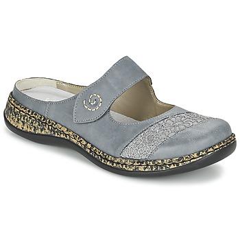 kengät Naiset Sandaalit Rieker GRILOPI Blue / Grey