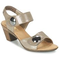 kengät Naiset Sandaalit ja avokkaat Rieker GERITEDO Grey
