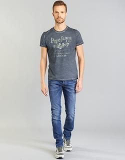 vaatteet Miehet Suorat farkut Pepe jeans TRACK Blue