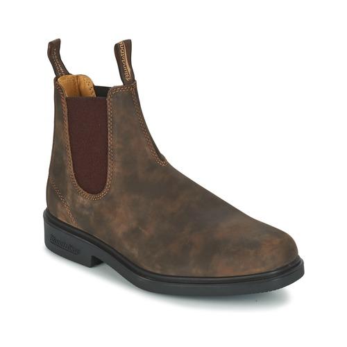 kengät Miehet Bootsit Blundstone COMFORT DRESS BOOT Brown
