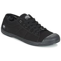 kengät Naiset Matalavartiset tennarit Le Temps des Cerises BASIC 02 Black