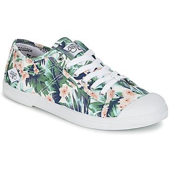 kengät Naiset Matalavartiset tennarit Le Temps des Cerises BASIC 02 Green