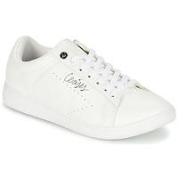 kengät Naiset Matalavartiset tennarit Le Temps des Cerises SACHA White