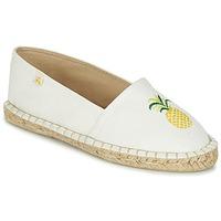 kengät Naiset Espadrillot Le Temps des Cerises CANCUN White