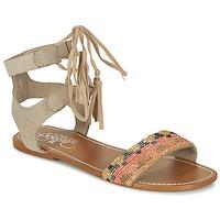 kengät Naiset Sandaalit ja avokkaat Le Temps des Cerises KAMPUR Beige