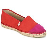 kengät Naiset Espadrillot Pare Gabia VP PREMIUM Red / Pink
