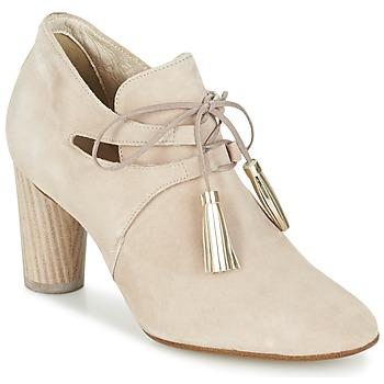 kengät Naiset Nilkkurit France Mode NANIE SE TA BEIGE