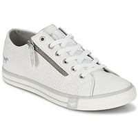 kengät Naiset Matalavartiset tennarit Mustang RADU White