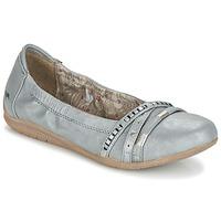 kengät Naiset Balleriinat Mustang CRICA Grey