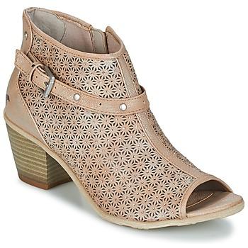 kengät Naiset Nilkkurit Mustang CRIARON Taupe
