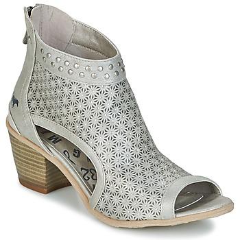 kengät Naiset Nilkkurit Mustang CRAIDOU Argenté