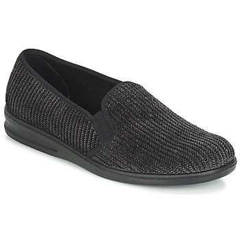 kengät Miehet Tossut Romika PRESIDENT 122 Black