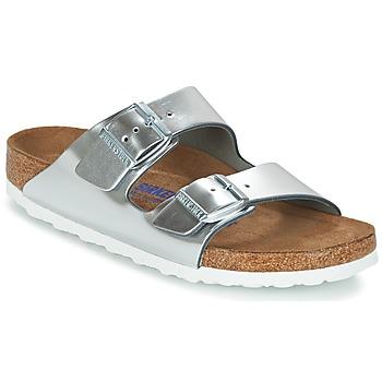 kengät Naiset Sandaalit Birkenstock ARIZONA SFB Silver