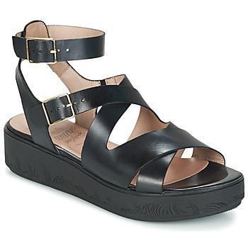 kengät Naiset Sandaalit ja avokkaat Wonders GROZE Black